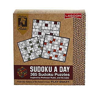 Sudoku A Day 365 Puzzle Desk Block