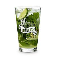 Muddle through it Mojito Recipe Glass 450ml