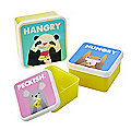 Jolly Awesome Hangry Hungry Peckish Snack Lunch Box Trio