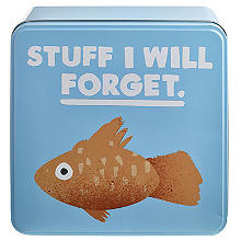 "Jolly Awesome Aufbewahrungsdose ""Stuff I Will Forget"""