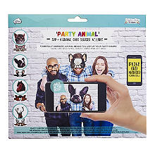 Party Animal Gesichtsmasken-Set mit App