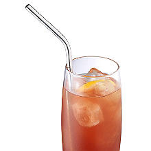Reusable Stainless Steel Drinking Straws - Pack of 8