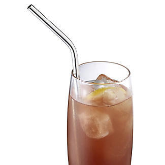Reusable Stainless Steel Drinking Straws - Pack of 6 alt image 3
