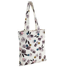 Caroline Gardner Rose Tinted Canvas Tote Bag