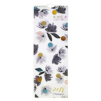 Caroline Gardner Rose Tinted Slim Calendar 2018