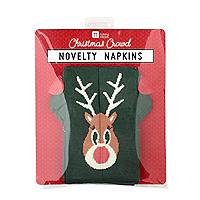 Weihnachtspulli-Servietten – 8 Stück