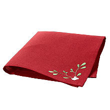 Festive Mistletoe Napkins Pack of 4