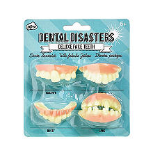 Dental Disasters Deluxe Fake Teeth