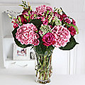 Antique Pink Hydrangea Bouquet With Free Express Delivery