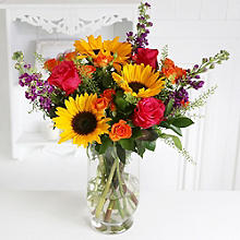 Sunflower Sunset Bouquet With Free Express Bouquet