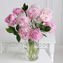 Pink Peony Bouquet With Free Express Delivery