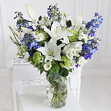 True Blue Bouquet With Free Express Delivery