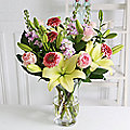Vanilla Sorbet Bouquet With Free Express Delivery