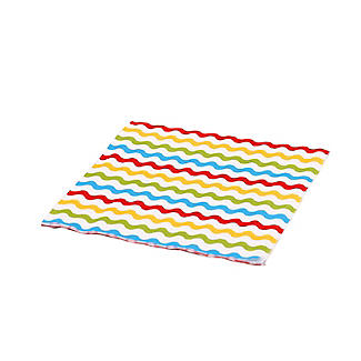 Carnival Partyware Multi Waves Paper Napkins – Pack