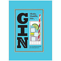 Gin Shake Muddle Stir Book