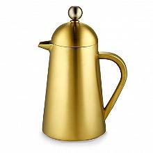 La Cafetière Edited Thermique 3-Cup Cafetière Brushed Gold