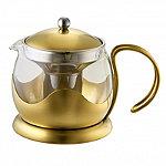 La Cafetière Edited 4-Cup Le Teapot Brushed Gold 1.2L