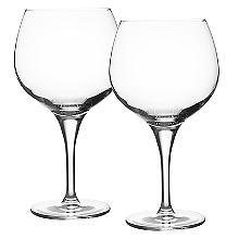 Ravenhead Diamond Crystal Balloon Gin Glasses - Set of 2