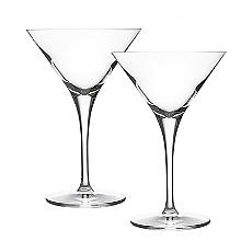 Ravenhead Diamond 2 Martini Glasses