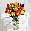 Autumn Fire Bouquet With Free Express Delivery