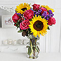 Autumn Brights Bouquet with Free Express Delivery