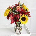 Sunflower Sunset Bouquet with Free Express Delivery