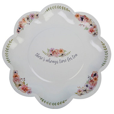 Time For Tea Plates x 8