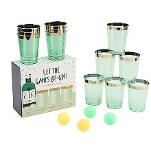Let the Games Be-Gin Gin Pong Drinking Game