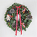 Traditional Eucalyptus and Cinnamon Wreath with Free Express Delivery