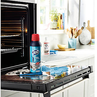 Oven Mate Cleaning Gel 500ml Brush and Gloves Cleaning Kit alt image 2