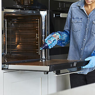 Oven Mate Cleaning Gel 500ml Brush and Gloves Cleaning Kit alt image 4