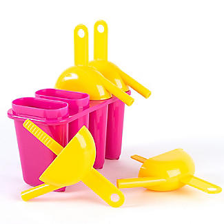Lick & Sip Reusable Ice Lolly Maker - Makes 4 Ice Lollies alt image 4