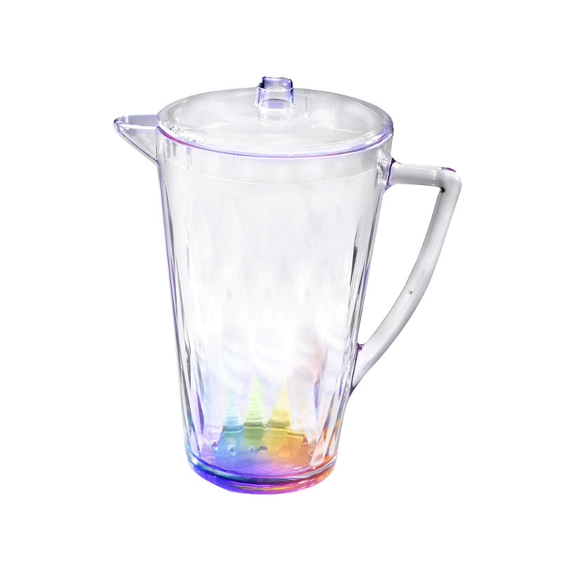 Kaleidoscope Unbreakable Plastic Picnicware - Lidded Drinks Jug