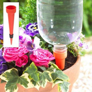 4 Adjustable Bottle Top Waterers In Gardening Tools And
