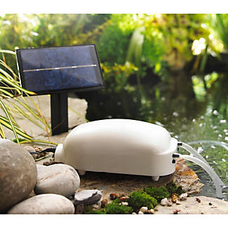 Solar pond oxygenator lakeland for Pond oxygenator