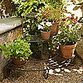 Plant Stand, 3-Tier Corner