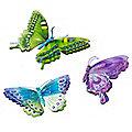 6 Peel & Stick Butterflies