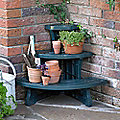 3 Tier Corner Plant Stand