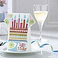 16 Celebration Birthday Cake Napkins