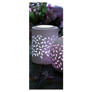 Cylinder Porcelain Solar Light