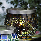 Bronze Mosaic Solar Light