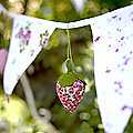 3 Strawberry Decorations