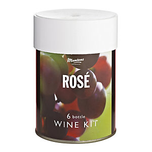 Muntons 6 Bottle Wine Kit Rose