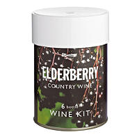 Muntons 6 Bottle Wine Kit Elderberry