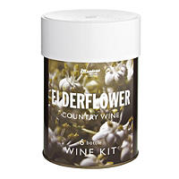 Muntons 6 Bottle Wine Kit Elderflower