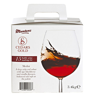Cedars Gold 15 Bottle Box Merlot