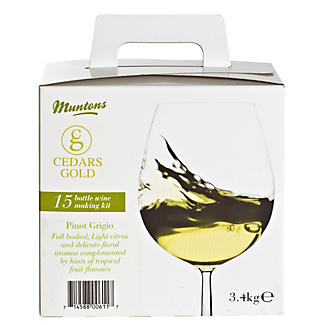 Cedars Gold 15 Bottle Box Pinot Grigio