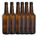 Home Brewer's Beer Bottle 6 Pack 50cl