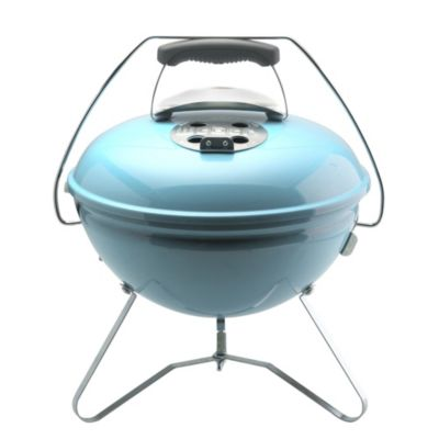 weber smokey joe blue in barbecues at lakeland. Black Bedroom Furniture Sets. Home Design Ideas