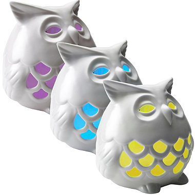 Colour-Changing Solar Owl